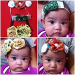 Flower headband simple tutorial