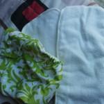 Cloth diaper inserts performance test